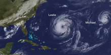 Video of the 2012 Atlantic Hurricane Season in 4.5 minutes