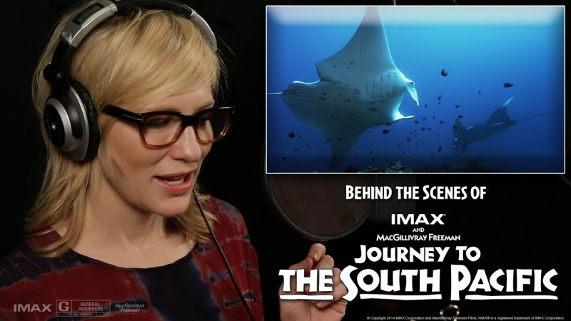 Announcing Cate Blanchett as narrator of Journey to the South Pacific