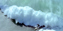 The Reel: Mavericks From the Air