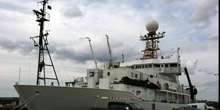 At Work on NOAA's Largest Research Vessel